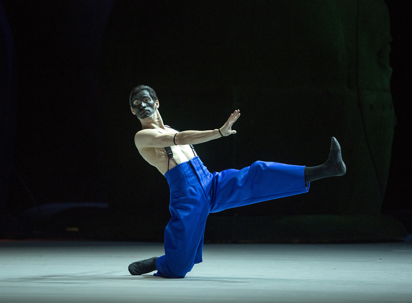 Anton Savichev as Moor.Photo by Elena Fetisova/ Bolshoi Theatre
