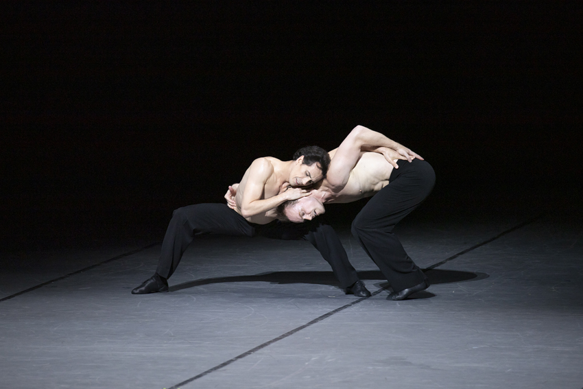 Alexandre Riabko and Ivan Urbanin Opus 100 – for Maurice by John NeumeierPhoto Kiran West